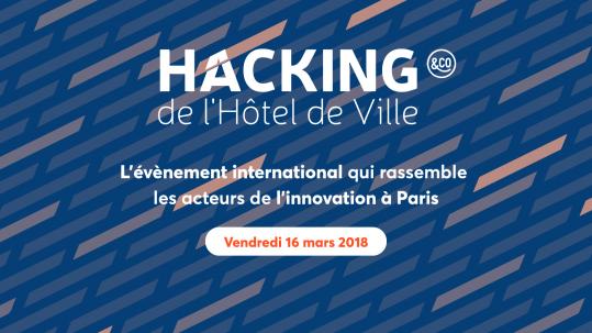 Hacking de l'Hôtel de ville, l'évènement international qui rassemble les acteurs de l'innovation à Paris